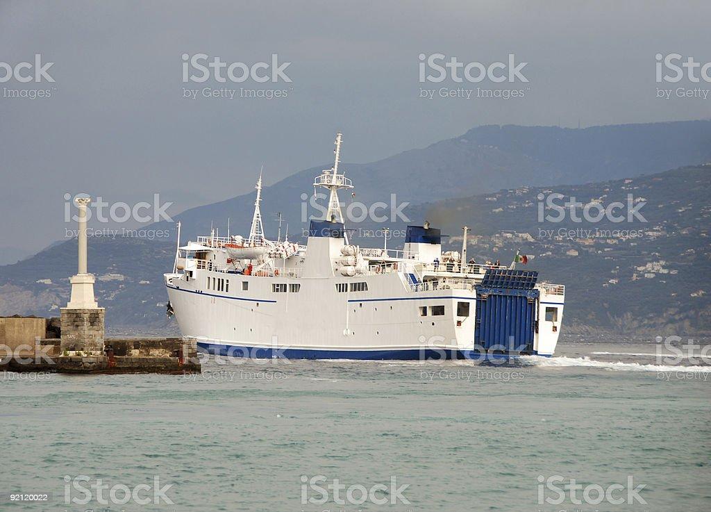Passenger ferry boat royalty-free stock photo