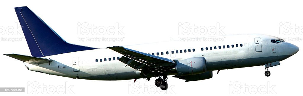 Passenger jet airplane. royalty-free stock photo