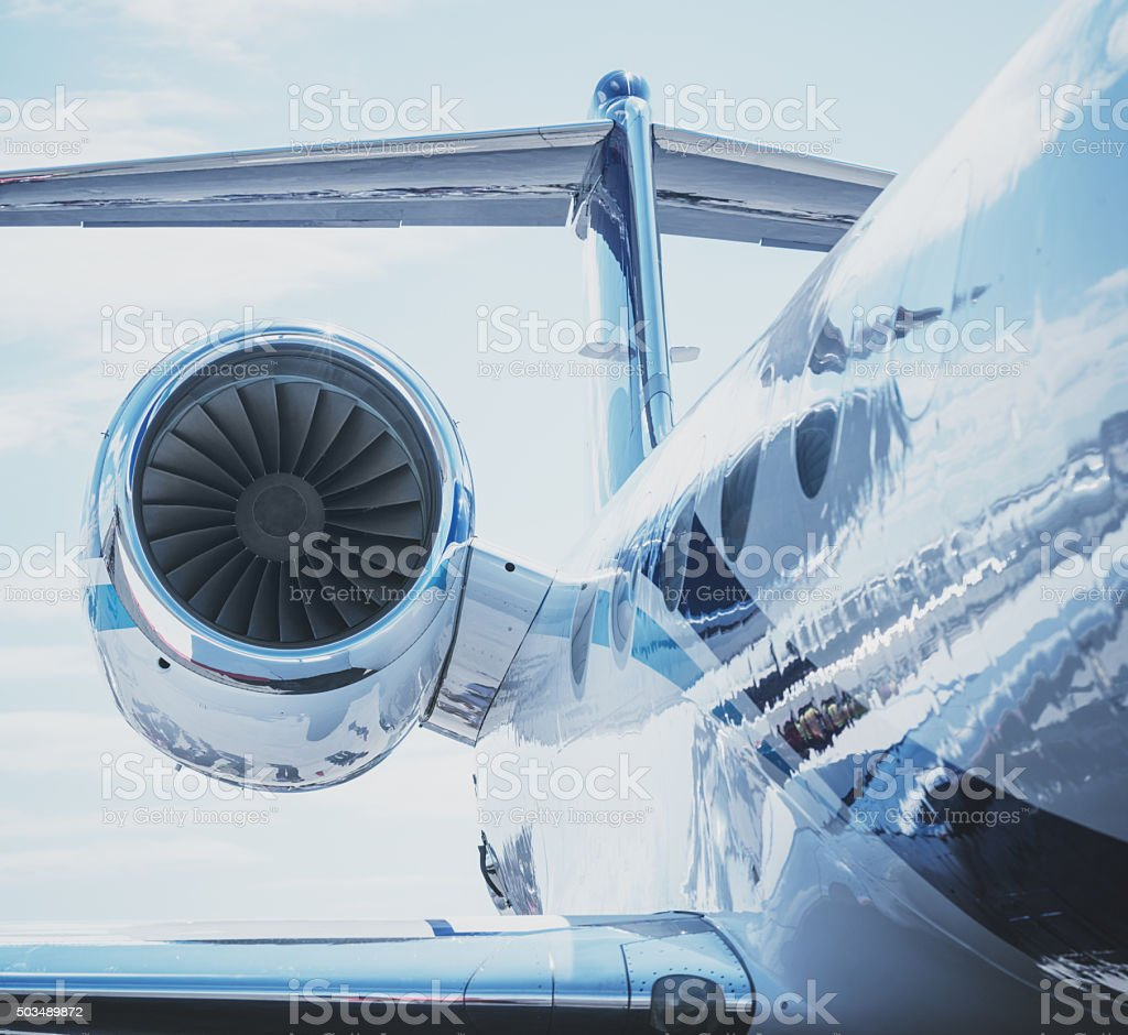 Passenger Jet stock photo