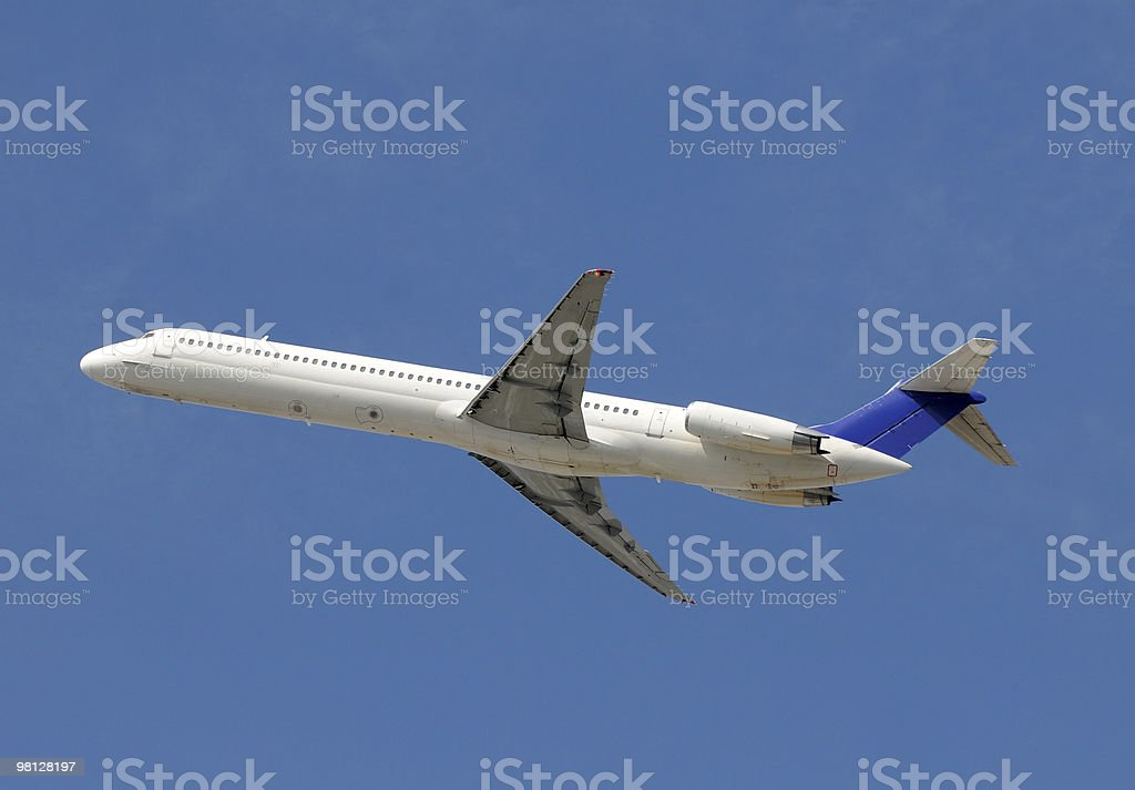 Passenger jet royalty-free stock photo