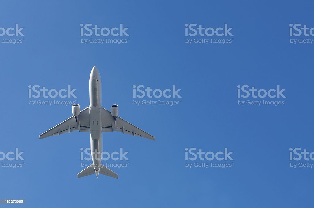 Passenger Jet Plane stock photo