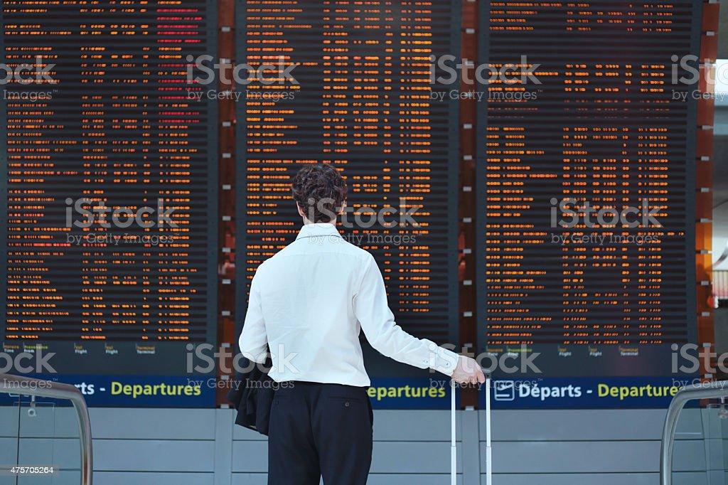 Calendario de vista del pasajero - Foto de stock de 2015 libre de derechos