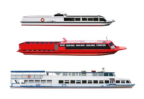 Passenger motor ships