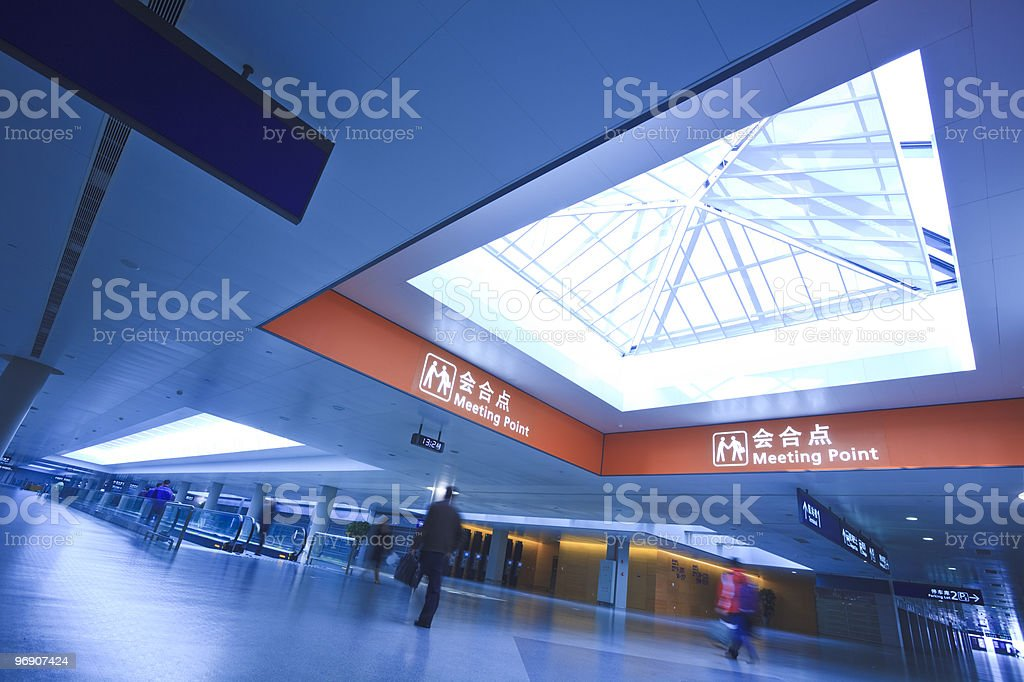 passenger royalty-free stock photo