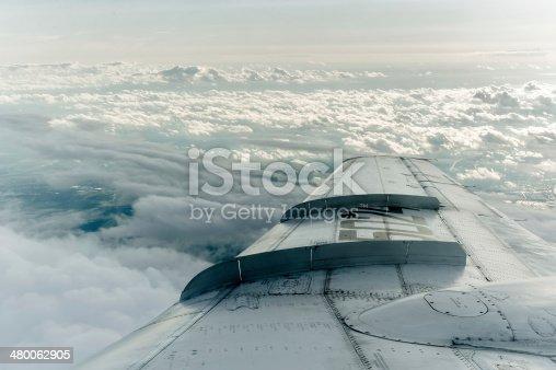 istock Passenger Plane On Final Approach 480062905