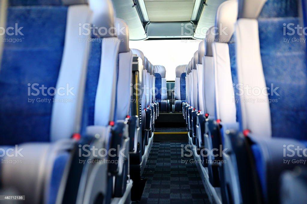 Passenger Seats stock photo
