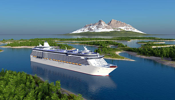 passenger ship - cruise ship stock photos and pictures