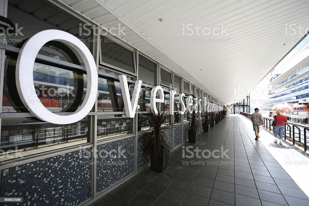 Passenger Terminal royalty-free stock photo