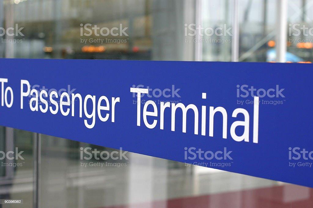 Passenger Terminal stock photo