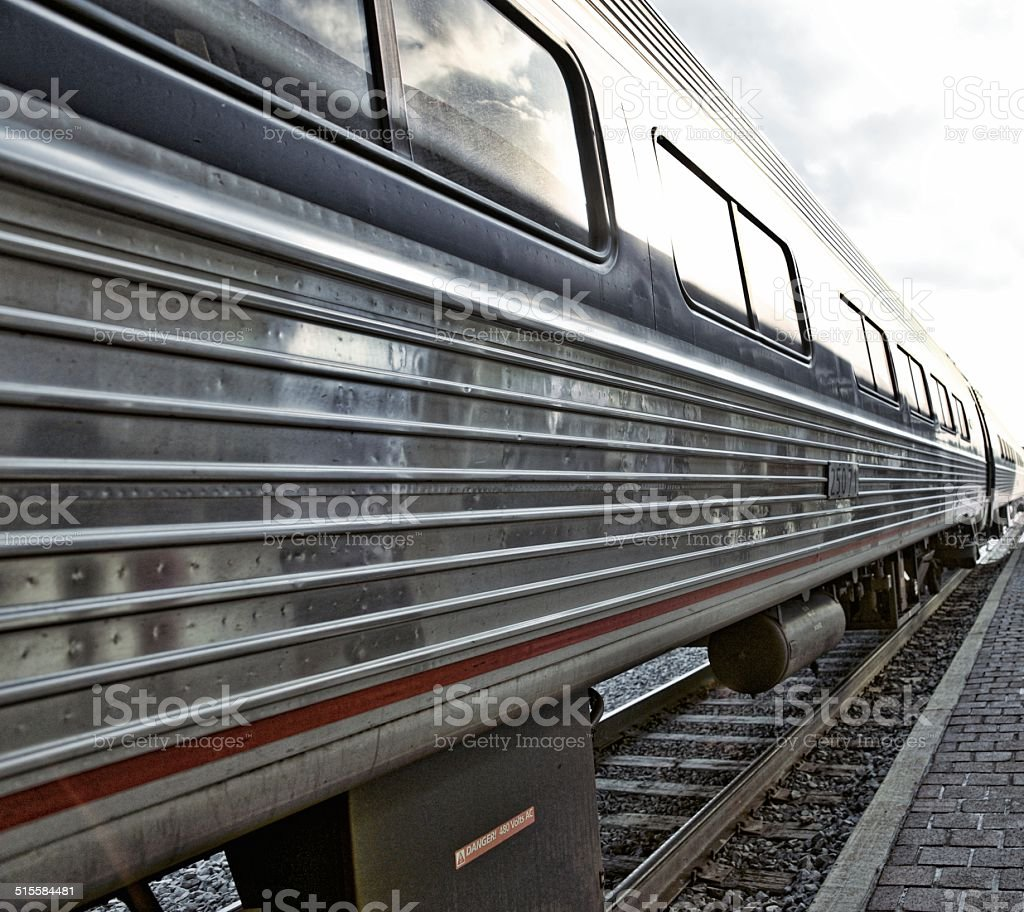 Passenger Train Car stock photo