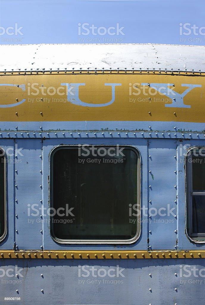 Passagier Fenster Zug Lizenzfreies stock-foto