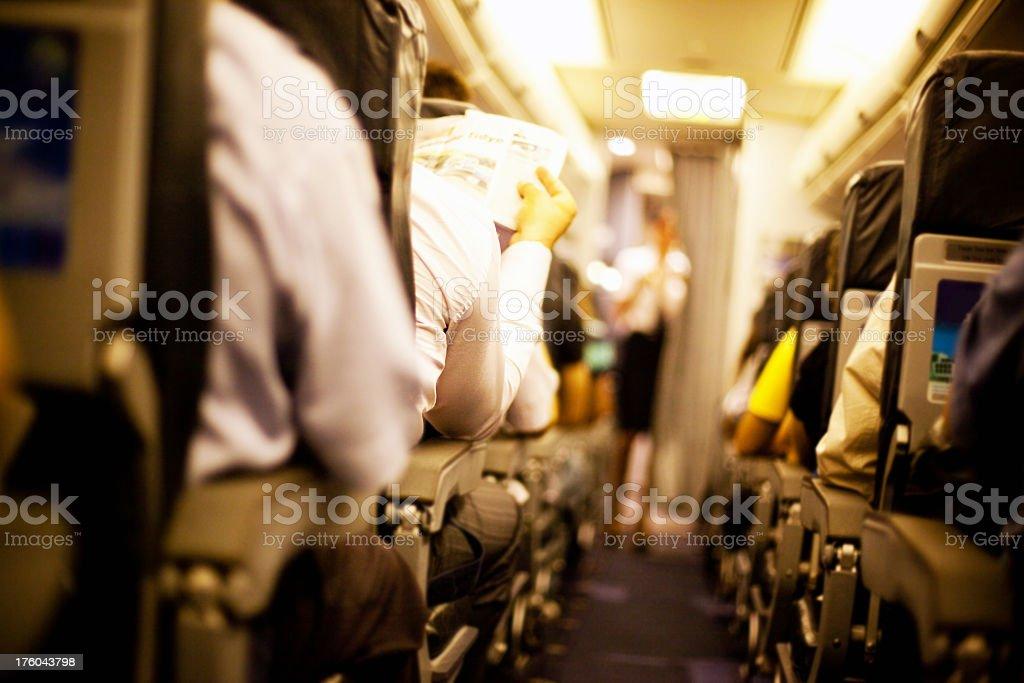 Passengers royalty-free stock photo