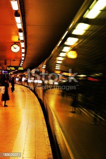 172864410istockphoto Passengers waiting for commuter train 183020221