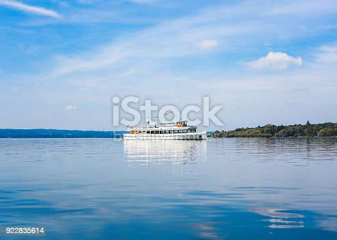 istock Passengership in Ammersee, Bavaria, Germany 922835614