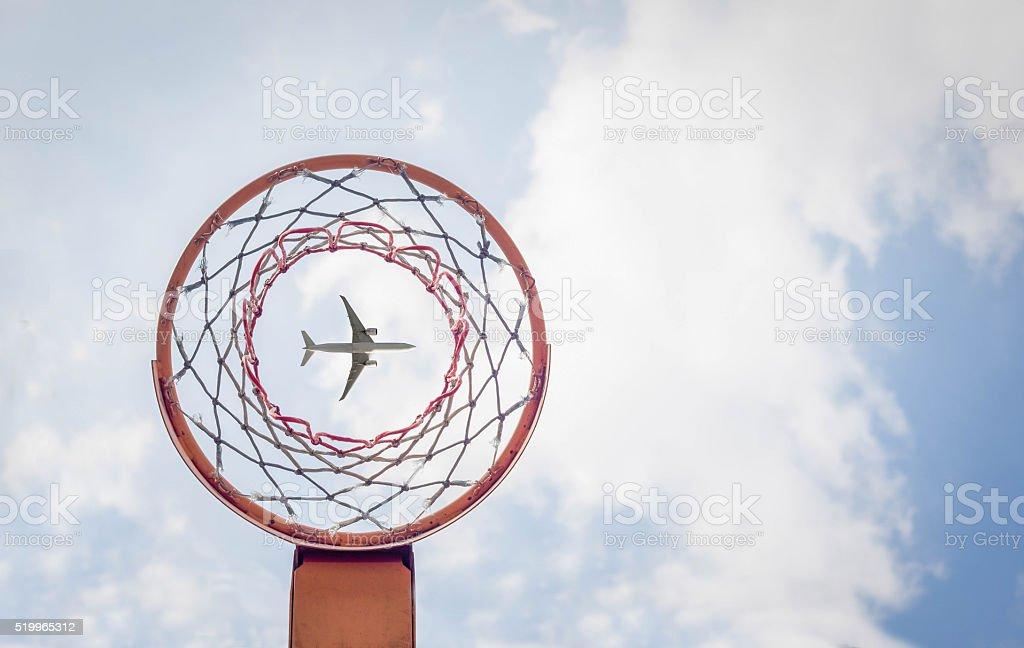 Sie verkehrsflugzeug – Foto