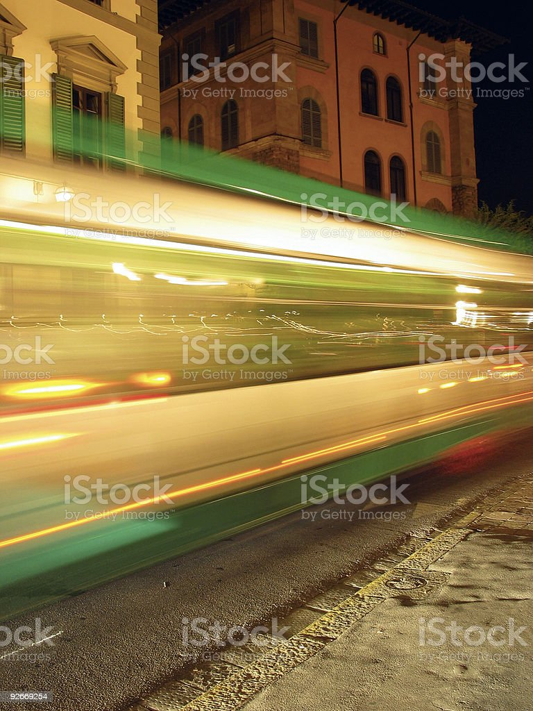 Passing by stock photo
