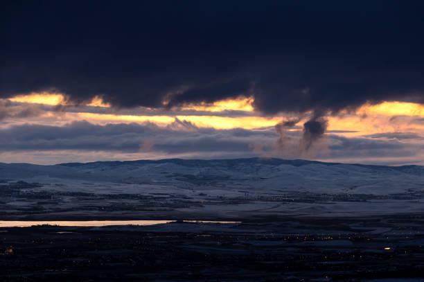 Geçen Bulutlar stok fotoğrafı