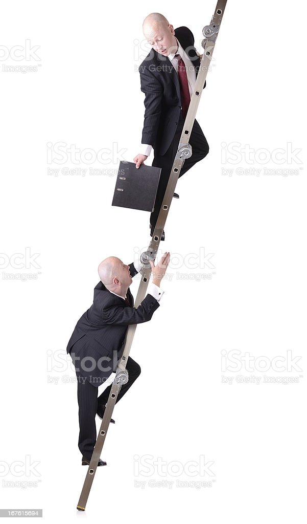 passing file down royalty-free stock photo