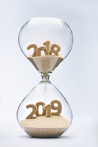 istock Passing into New Year 2019 825846284