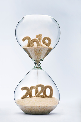 istock Passing into New Year 2020 973745640