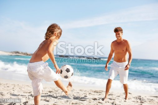 istock Passing the ball 183335180