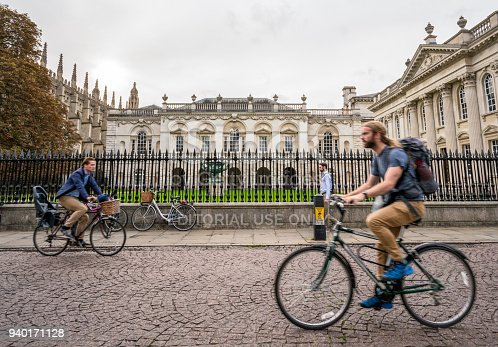istock Passing the Old Schools Buildings in Cambridge, England 940171128