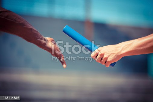 istock Passing the Relay Baton 148114816
