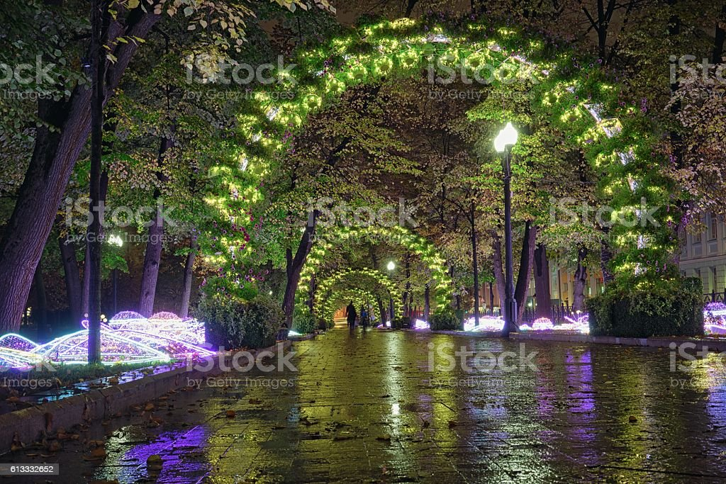 Passion Boulevard, Moscow, Russia. stock photo