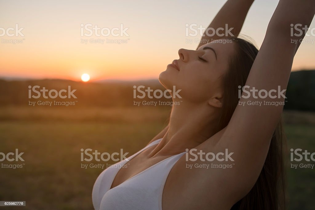 Passion for Yoga stock photo