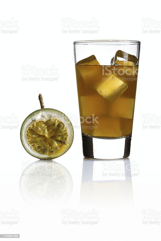 passion fruit juice royalty-free stock photo