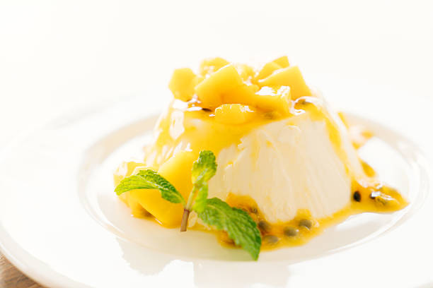 Passion fruit panna cotta – Foto