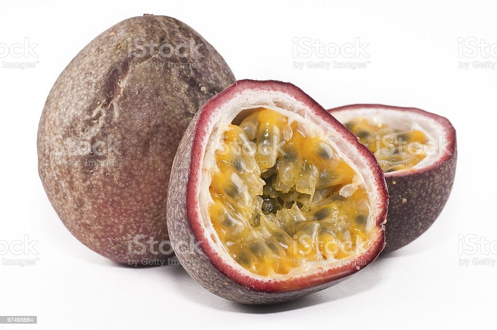 Passion fruits royalty-free stock photo