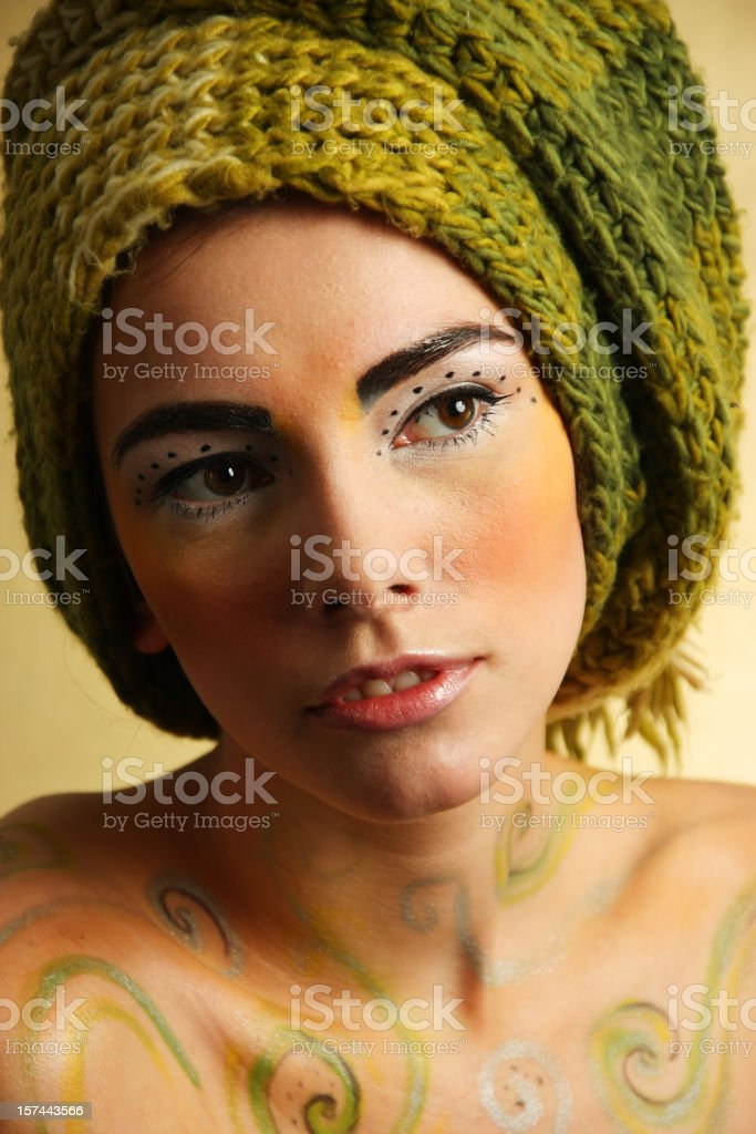 Passion girl royalty-free stock photo