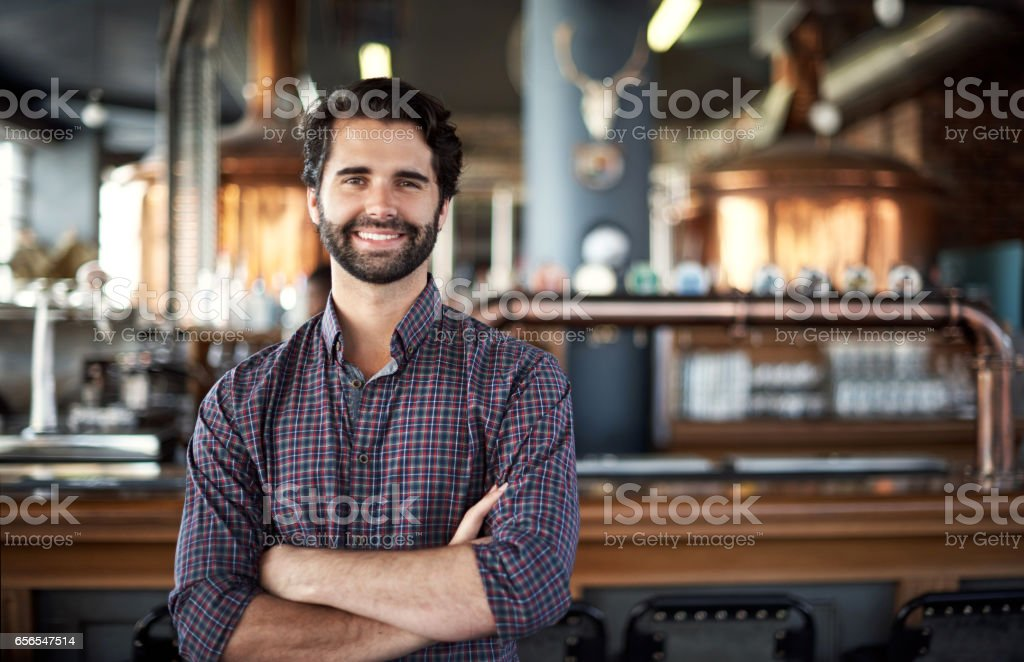 Passion is key in owning a successful pub stock photo