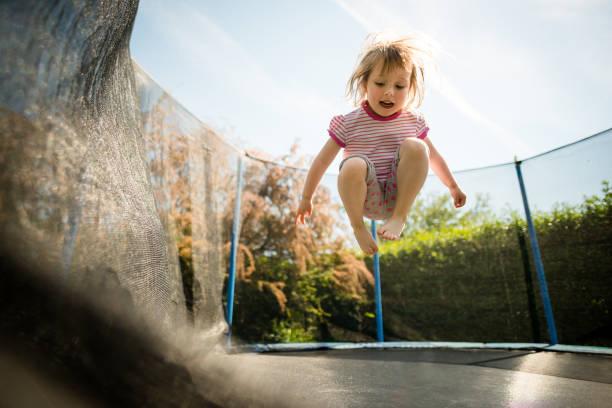 Leidenschaft - springen Trampolin – Foto