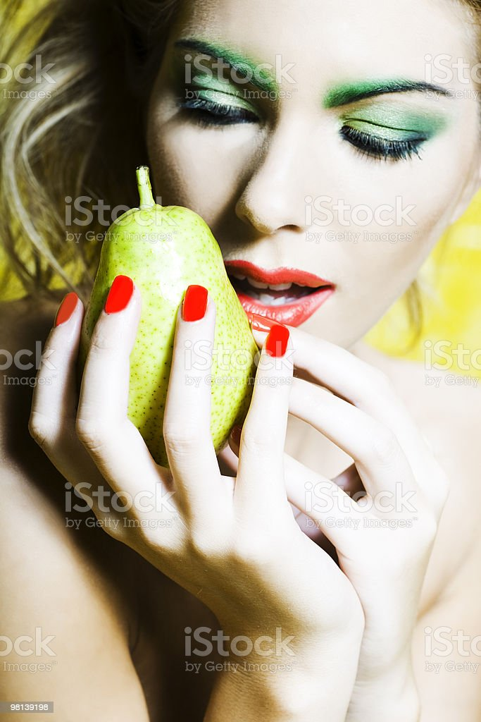 passion of fruit royalty-free stock photo