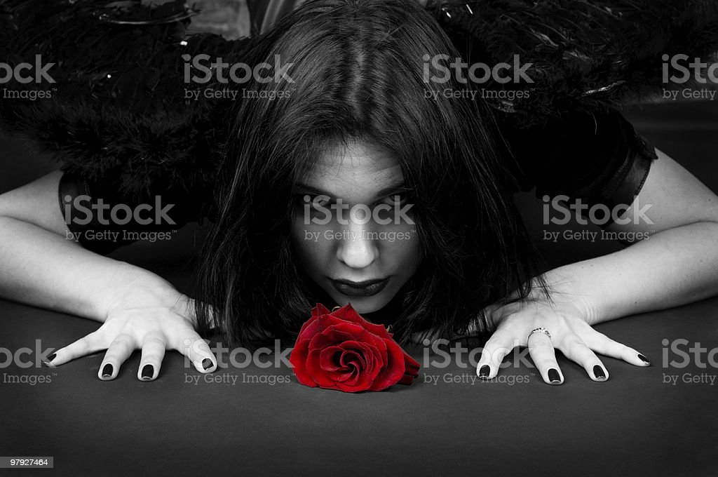 Passion threat royalty-free stock photo