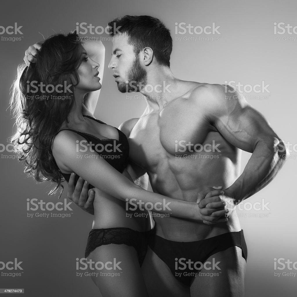 Страстный мужской секс