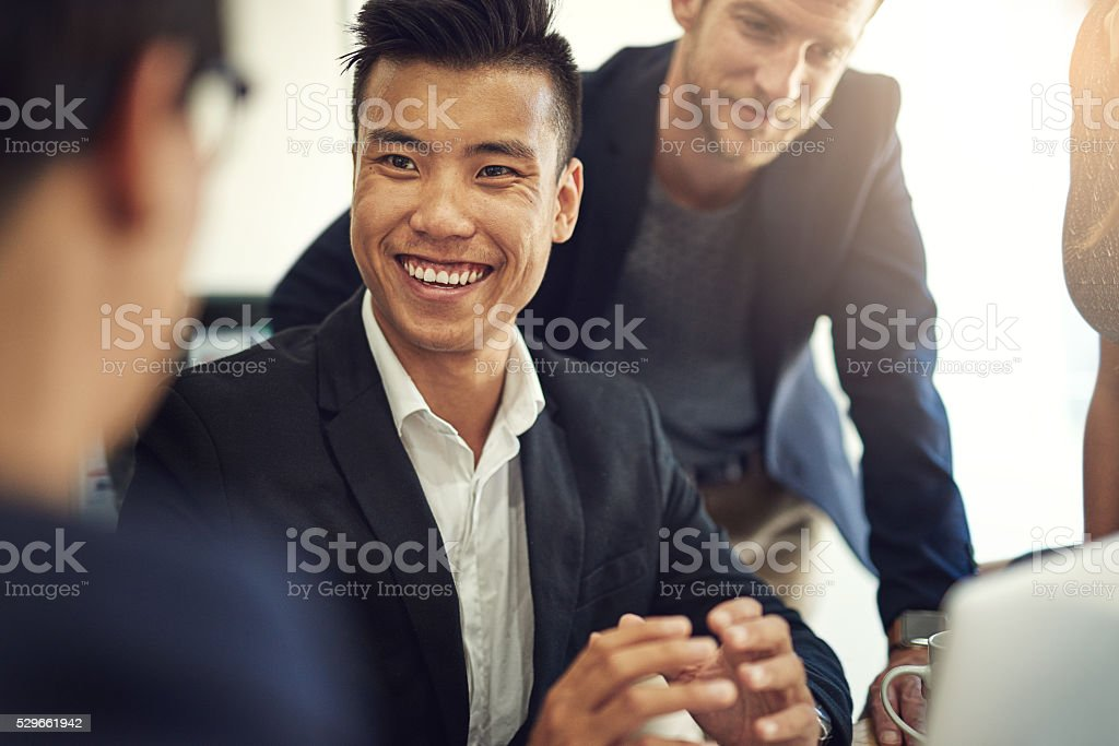 Passionate about design stock photo