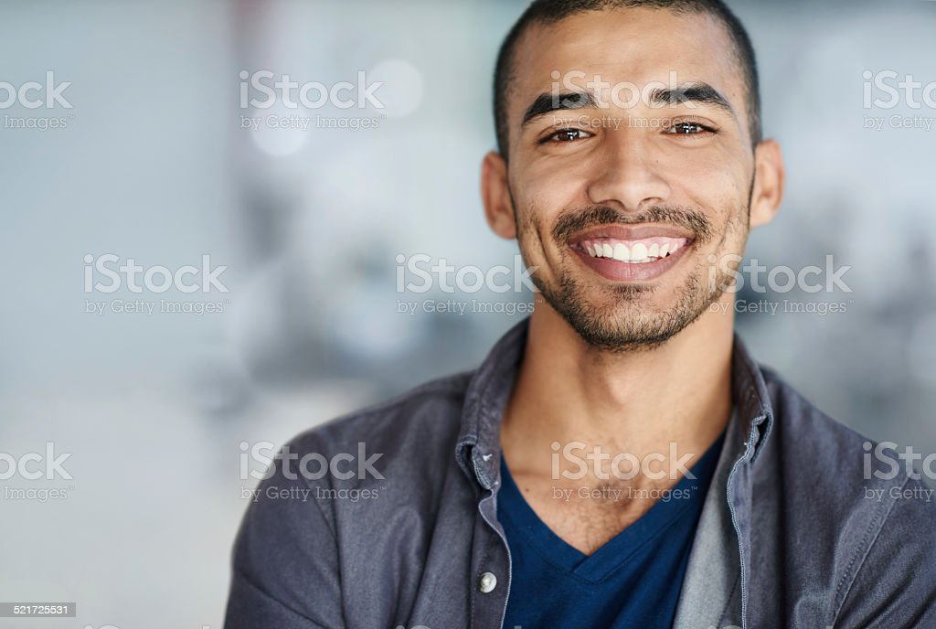 Passionate about my career stock photo