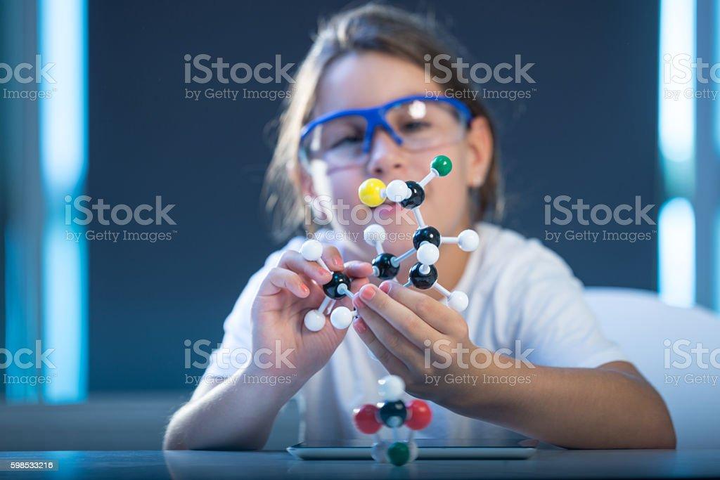 Passionnés de science photo libre de droits