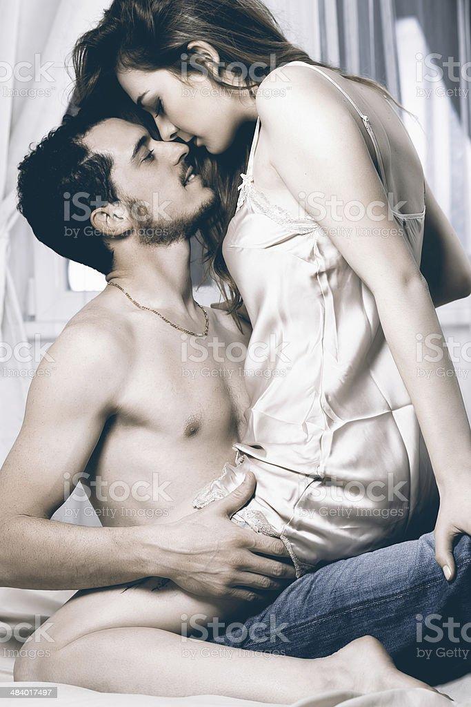 Сексуальные страсти в постели