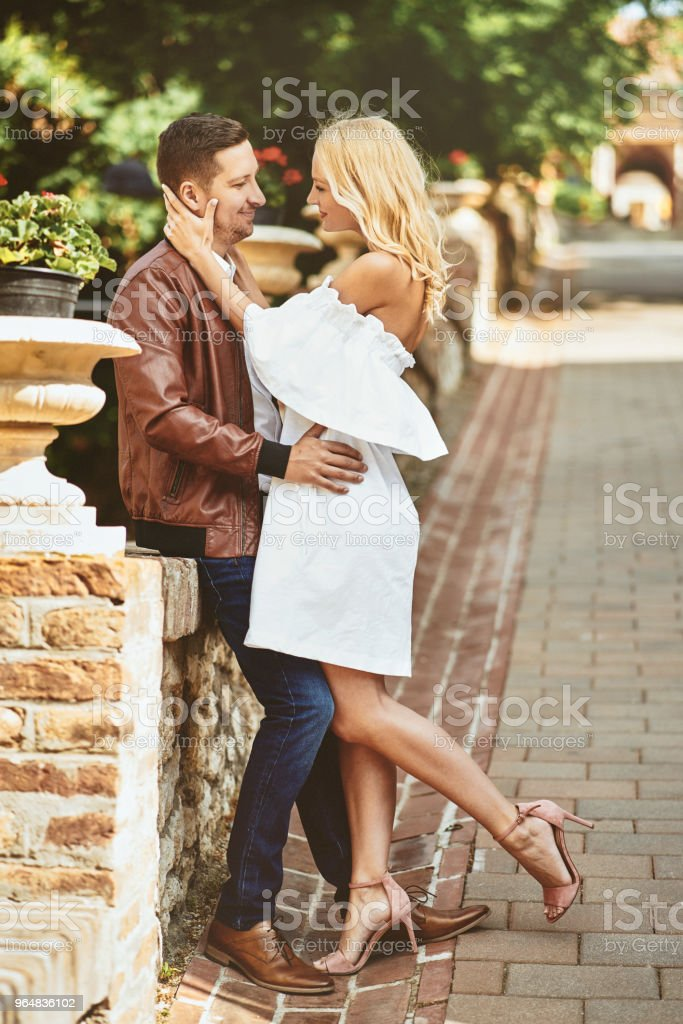 Passionate couple Love story royalty-free stock photo