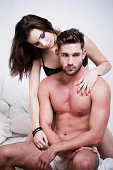 istock Passionate Couple on the Bed 171149979