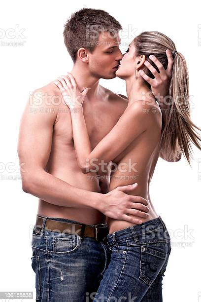 couple  share a moment of romantic affection.couple  share a moment of romantic affection.