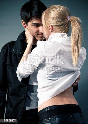 istock Passionate couple 165959974