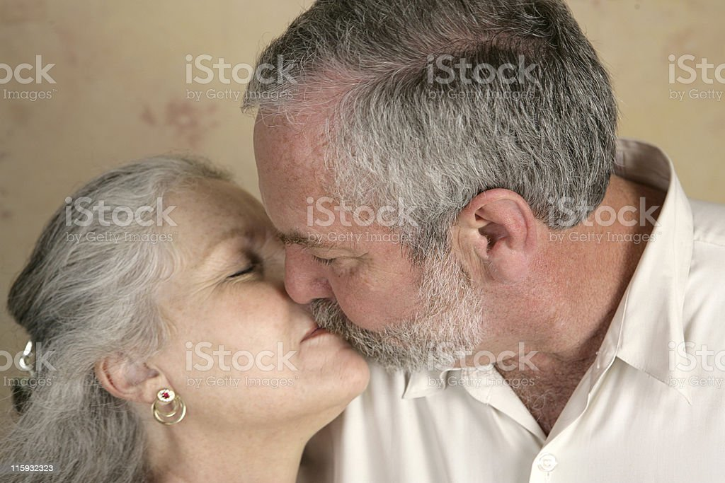 Passionate Kiss royalty-free stock photo