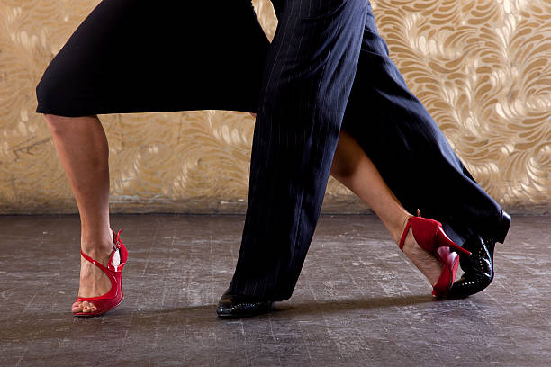 passionate tango - music style stock pictures, royalty-free photos & images