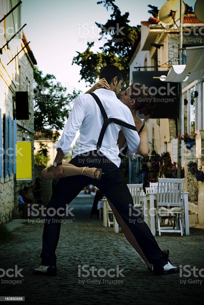 Passionate Tango royalty-free stock photo