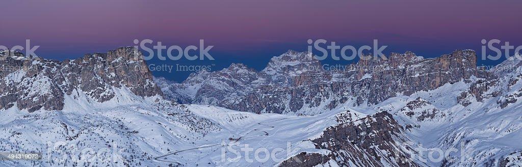 Passo Giau (Dolomiti) stock photo